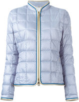 Fay zip up puffer jacket - women - Feather Down/Polyamide/Polyester/Polyurethane - XL