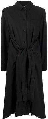 Henrik Vibskov Shirt-Sleeve Organic Cotton Dress