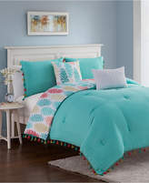 Jessica Sanders Closeout! Celeste 4-Piece Twin Comforter Set Bedding