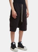 Rick Owens Drkshdw Cargo Pod Shorts In Black