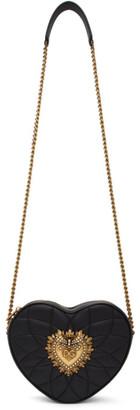 Dolce & Gabbana Black Devotion Heart Bag