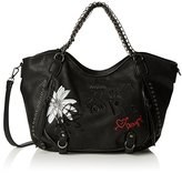 Desigual Bag Rotterdam Black Daisy