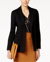 Alfani Petite Shawl-Collar Open-Front Blazer, Only at Macy's