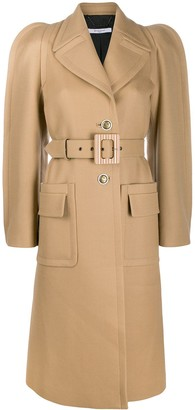 Givenchy single-breasted belted coat