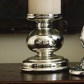 The Well Appointed House Global Views Cheltenham Candleholder in Mercury Glass