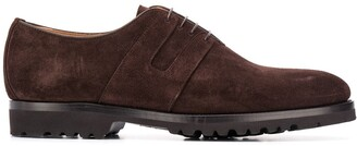 Kiton Suede Oxford Shoes