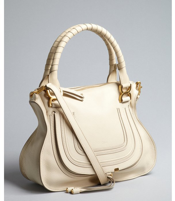 Chloé stone leather 'Marcie' convertible tote