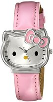 Hello Kitty Girl's HK1880J Analog Display Quartz Pink Watch