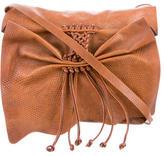 Carlos Falchi Butterfly Messenger Bag