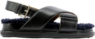 Marni Criss-Cross Fussbett Sandals