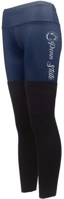 Women's Navy Penn State Nittany Lions Polyester and Sweater Combo Leggings