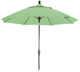 California Umbrella 9' Fiberglass Collar Tilt Market Umbrella