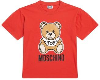 Moschino Kids Oversized Bear Logo T-Shirt