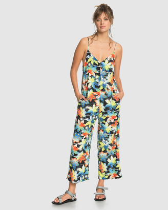Quiksilver Womens Strappy Jumpsuit