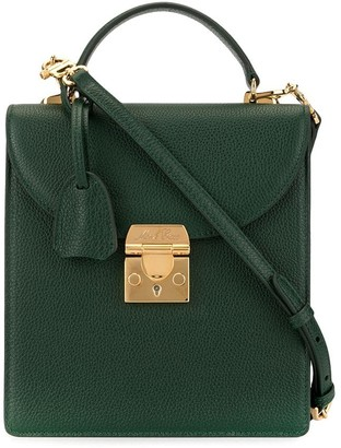Mark Cross Uptown satchel top handle bag