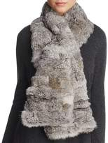 Surell Pieced Rabbit Fur Scarf