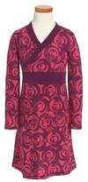 Tea Collection Toddler Girl's Rennie Rose Wrap Neck Dress