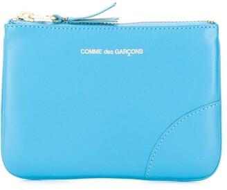Comme des Garcons colour pop zipped wallet