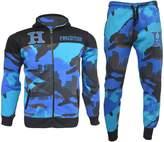 A2Z 4 Kids® Kids Tracksuit Boys HNL Camouflage Hoodie & Botom Jog Suit New Age 7-13 Years