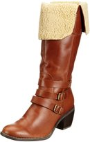 Hush Puppies Rustique_14 BT Tan Womens Boots, Size 9