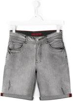 Zadig & Voltaire Kids - denim shorts - kids - Cotton/Spandex/Elastane - 16 yrs