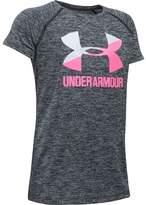 Under Armour Novelty Big Logo Short-Sleeve T-Shirt - Girls'