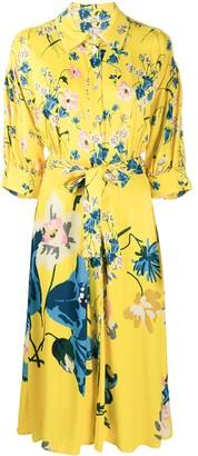 Antonio Marras Floral Shirt Dress