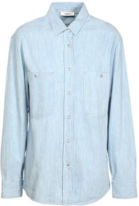 Etoile Isabel Marant Galisea Cotton Chambray Shirt