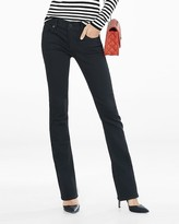 Express Low Rise Black Barely Boot Jeans