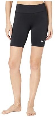 Nike Fast Shorts 7 (Black/Reflective Silver) Women's Shorts