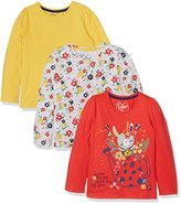 Mothercare Girl's Farm - 3 Pack T - Shirt