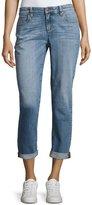 Eileen Fisher Stretch Boyfriend Jeans, Sky Blue, Petite