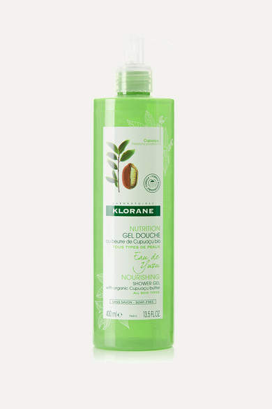 Klorane Yuzu Infusion Shower Gel With Cupuaçu Butter, 400ml - Colorless