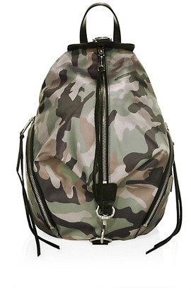 Rebecca Minkoff Julian Camo-Print Backpack