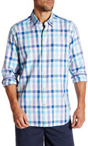 Tommy Bahama Regular Fit Game of Gingham Long Sleeve Shirt