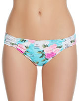 Betsey Johnson Floral Hipster