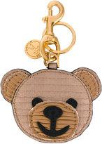 Moschino teddy bear key ring