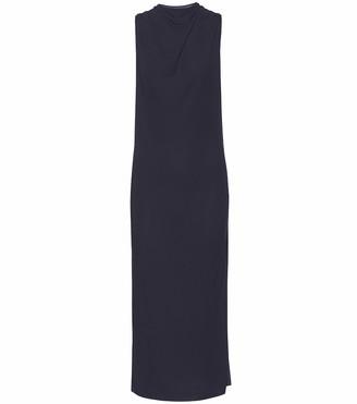 Helmut Lang Crepe midi dress