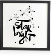 DENY Designs Kal Barteski Star Bright Framed Wall Art, 12 x 12