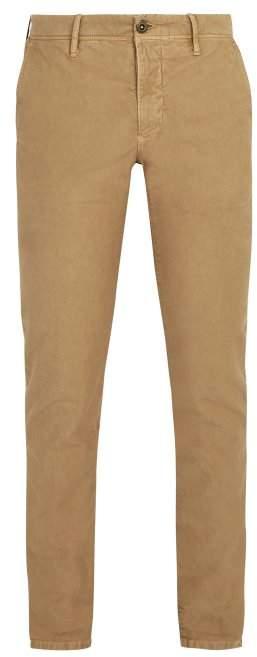 Incotex Slim Leg Chino Trousers - Mens - Beige