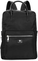 Versace Black Nylon Backpack