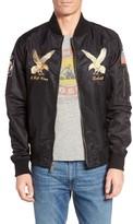 Schott NYC Men's Uss Mississippi Bomber Jacket