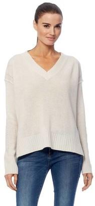 360 Cashmere Daria Chalk Knit Sweater - Chalk / S
