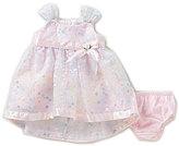 Bonnie Jean Bonnie Baby Girls Newborn-24 Months Floral Organza High-Low Dress