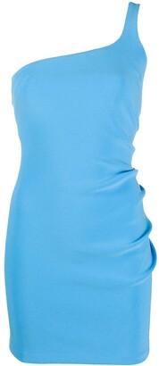 Bec & Bridge Paloma one-sleeve mini dress