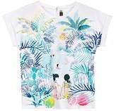 Catimini Girl's TS MC Ample OAS T-Shirt
