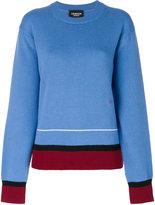 Calvin Klein contrast trim jumper