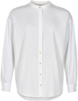 Nümph Bright White Marcy Shirt - 7419016 - Viscose / polyester / cotton / elastane | 40