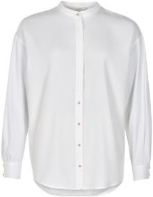 Nümph Bright White Marcy Shirt - 7419016 - Viscose / polyester / cotton / elastane | 40