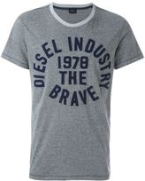 Diesel logo patch T-shirt